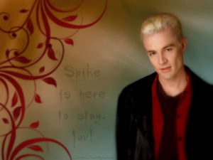 Spike is here to stay, luv!