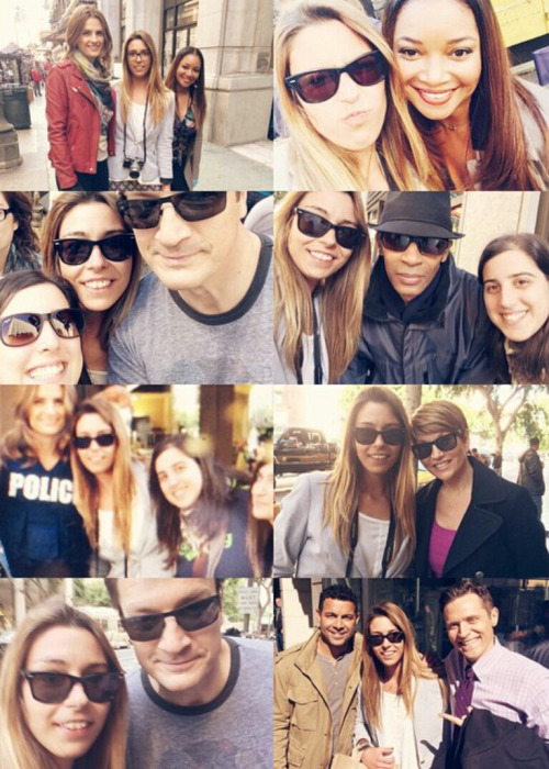 Stanathan,Castle's cast and fans-7x19