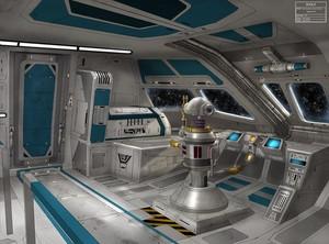 星, 星级 Commuter Shuttle Concept Art