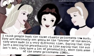 Stop bashing the Classic Princesses