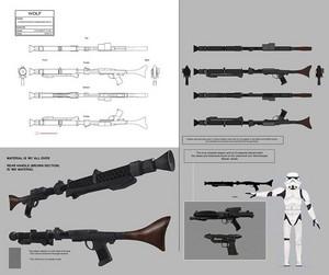 Stormtrooper Commander 소총 Concept Art
