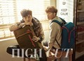 Sunggyu and L for 'High Cut'