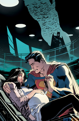 Superman kertas dinding with Anime entitled Superman - Convergence