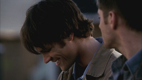 Sam Winchester wallpaper entitled Supernatural 1x08