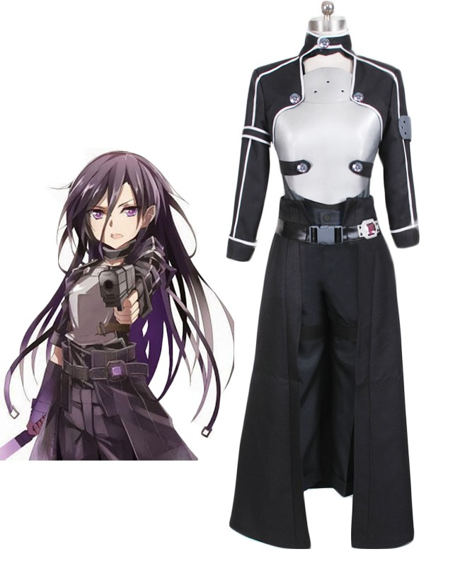 Sword Art Online Ⅱ Phantom Bullet Kirito cosplay costume