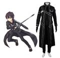 Sword Art Online SAO Beater Black Swordsman Kirigaya Kazuto Kirito Cosplay Costume