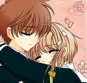Syaoran and Sakura