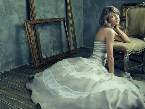 Taylor Swift wallpaper possibly containing a gown, a hoopskirt, and a dinner dress titled TAYLOR SWIFT TS