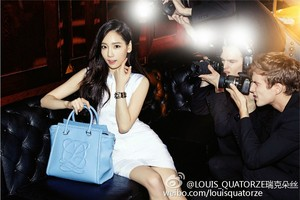 Taeyeon for 'Louis Quatorze'