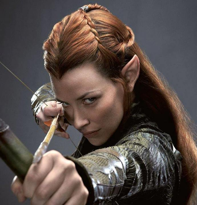 Tauriel Because Darby.