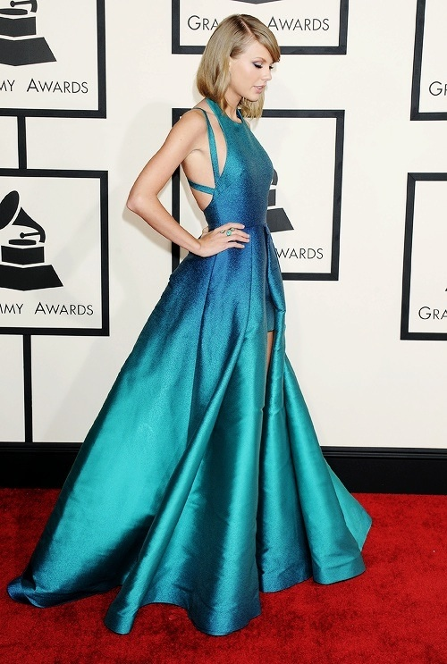 taylor swift attending the 2015 grammys taylor swift