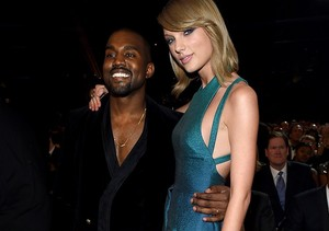Taylor and Kanye West