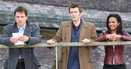 Tenth Doctor - Season 3 Finale - BTS