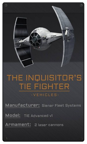 The Inquisitor's Tie Fighter