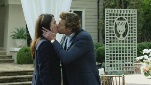 The Mentalist wallpaper with a business suit and a well dressed person titled The Mentalist- 7.13 White Orchids -Series Finale