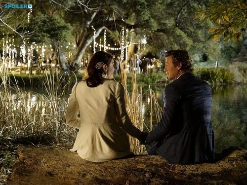 The Mentalist wallpaper titled The Mentalist - Episode 7.13 - White Orchids (Series Finale) - First Look Wedding Photos