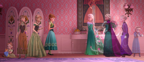 Frozen Fever Hintergrund entitled The Past is in the Past