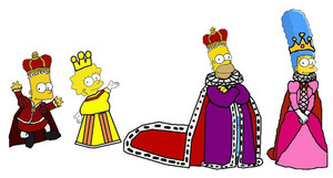 The Simpsons Royal Family