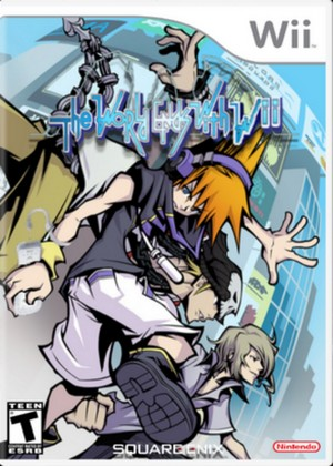 The World Ends With Ты Wii game