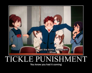 Tickle Punishment