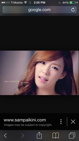 Tiffany the prettiest and Yoona