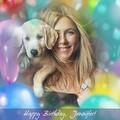 Today is Jennifer's birthday