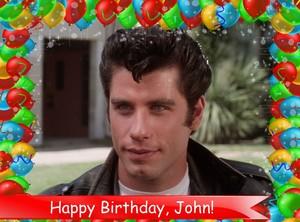 Today is John Travolta's birthday!