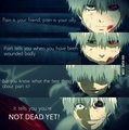 Tokyo Ghoul Quote. I need to watch this XD
