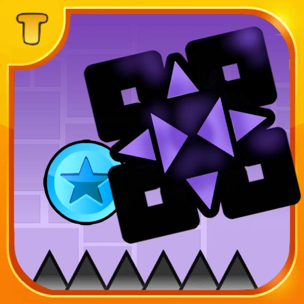 trekkie s icon with background geometry dash photo 38199548 fanpop fanpop