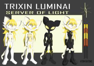 Trixin Luminai: Server of Light