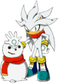 Two Silvers - sonic-shadow-and-silver photo