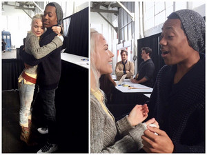 Tyler James Williams and Beth Cosplayer
