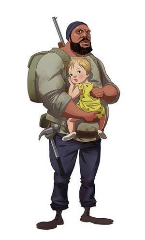 Tyreese and Judith