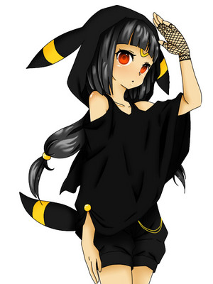 Umbreon Girl Pokemon