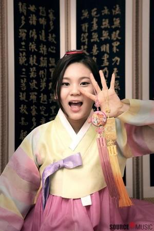 Umji wishing us a Happy Lunar New Year!