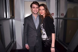 Unseen Pic Of Daniel Radcliffe With a fan! (Fb.com/DanieljacobRadcliffeFanClub)
