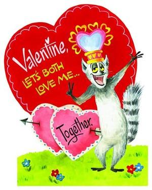 Valentine, let's both Liebe me... Together.