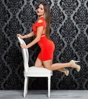 Valentine's Tag Divas 2015 - Nikki Bella