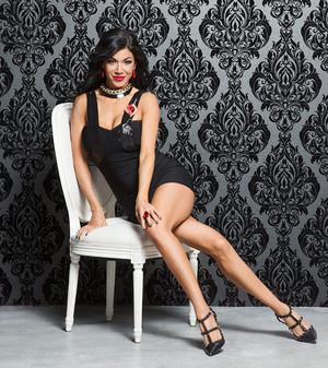 Valentine's dia Divas 2015 - Rosa Mendes
