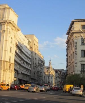 Victory Avenue Calea Victoriei Bucharest Bucuresti Romania