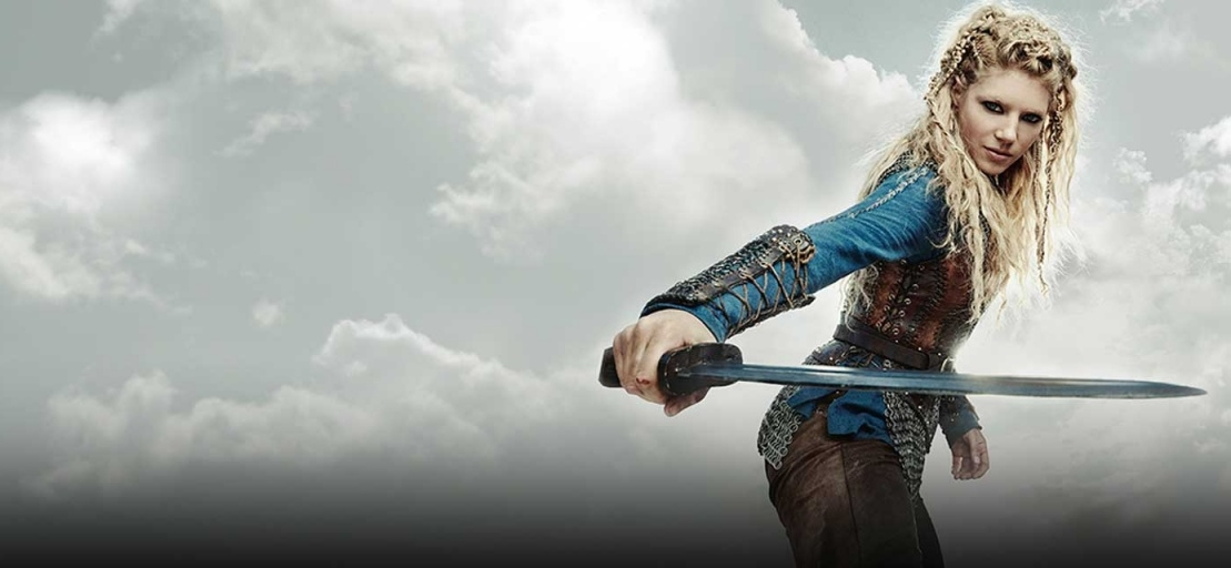 Vikings Lagertha Season 3 Promotional Picture