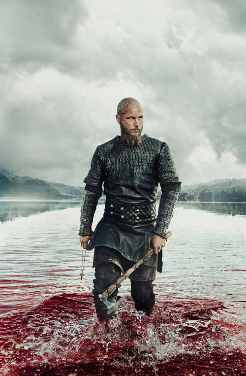 Vikings Ragnar Lothbrok Season 3 Promotional Picture