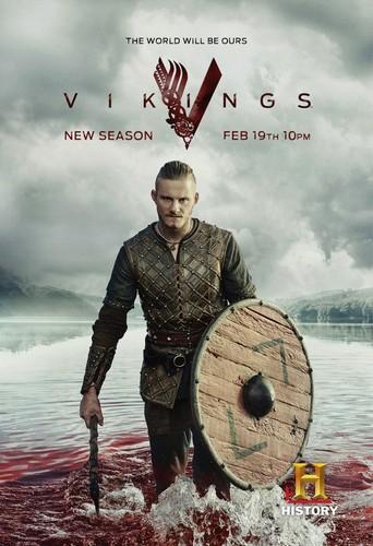 vikings (serial tv) wallpaper titled Vikings Season 3 Bjorn Promotional Poster