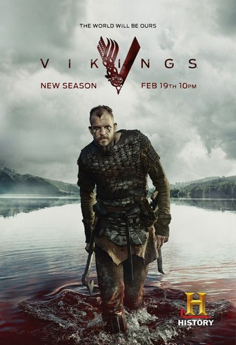 Vikings (TV Series) پیپر وال called Vikings Season 3 Floki Promotional Poster
