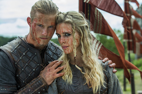 Vikings (TV Series) karatasi la kupamba ukuta called Vikings Season 3 Official Picture