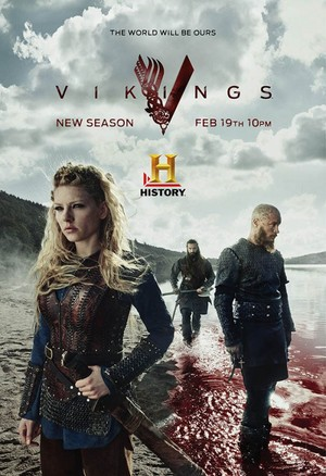 Vikings Season 3 Promotional Poster