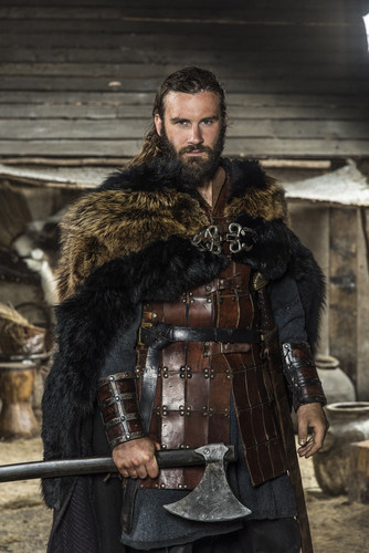 Vikings (TV Series) achtergrond with a vacht, bont jas called Vikings Season 3 Rollo Official Picture