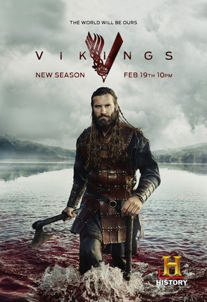 Vikings Season 3 Rollo Promotional Poster