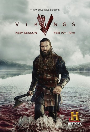 Vikings (TV Series) achtergrond probably containing a rifleman, a green beret, and a navy zeehond, seal called Vikings Season 3 Rollo Promotional Poster
