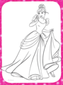 Walt Disney Coloring Pages - Princess Cendrillon